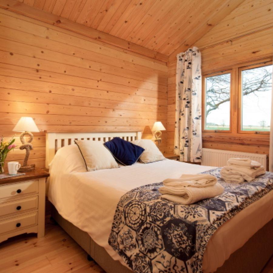 Shepherds Lodge bedroom