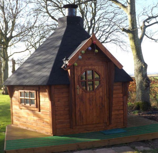 BBQ Hut at Shepherds Cottage