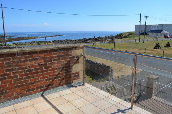 Sea View from Benthall House