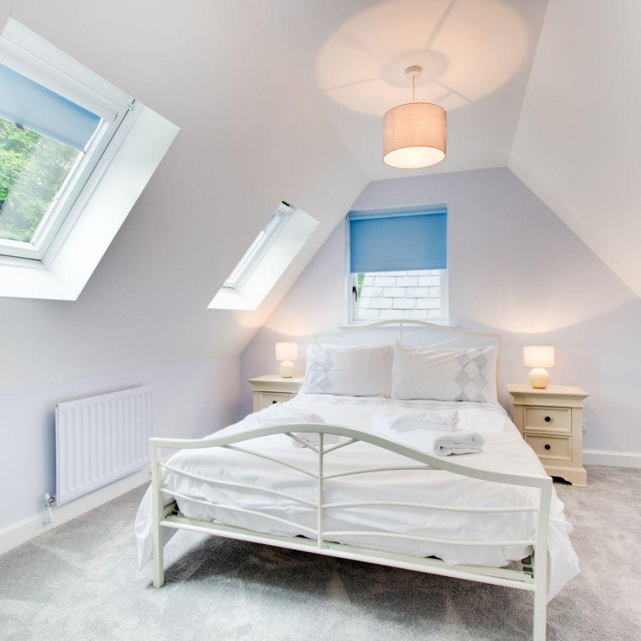 Blue Poppy House Bedroom