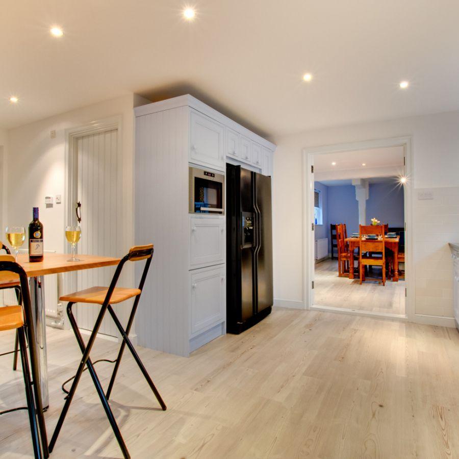 Blue Poppy House Kitchen