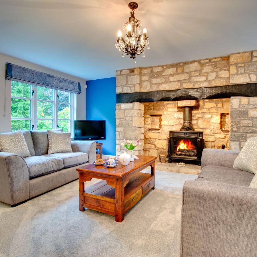 Blue Poppy House Lounge