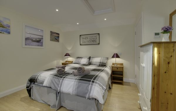 Beach Cottage, Spittal bedroom
