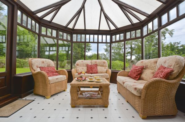 A conservatory to watch the world go by from...
