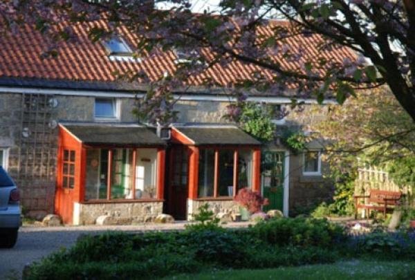 Outside Old Barn Cottages