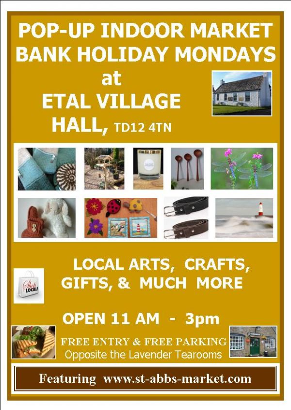 POP-UP INDOOR MARKET Bank Holiday Easter Monday