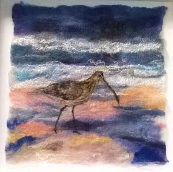 Paint the coast with wool......