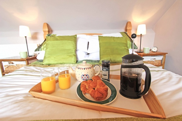 Treat yourself to breakfast in bed