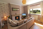 Panhaven lounge with wonderful views of Coquet Island is near Druridge Links