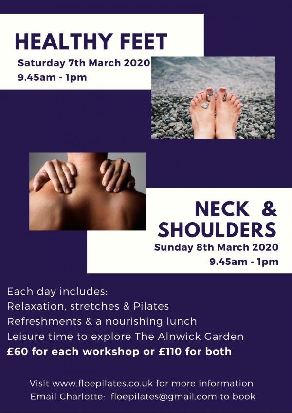 Pilates & Wellness Weekend at The Alnwick Garden
