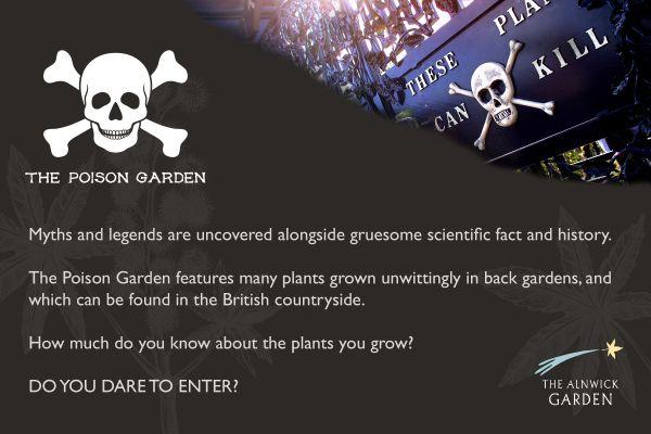 Poison Garden Tours