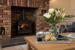 Cosy log stove - Seascape is near Concert of traditional music from Northumberland and beyond