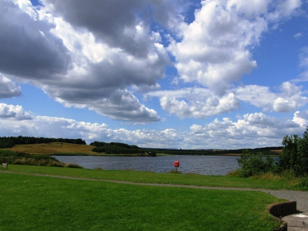A view of Druridge Bay Country Park is near Poppy Cottage at Hemscott Hill Farm