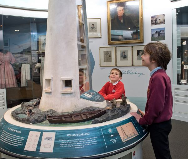 Longstone Lighthouse model