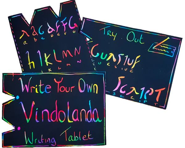 Rainbow Writing Tablets