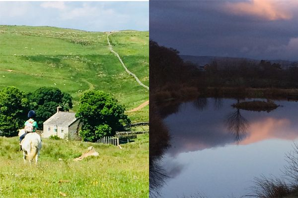 Ravenscleugh - By day & by night