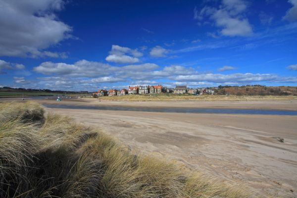 Riverside, Alnmouth, Alnmouth beach