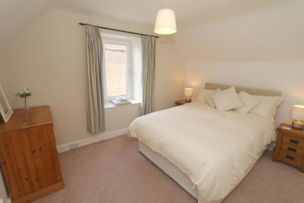 Riverside, Alnmouth, double bedroom