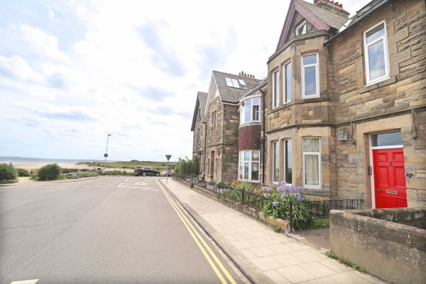 Riverside, Alnmouth, exterior