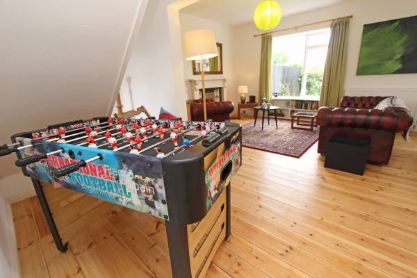 Rock Moor Farm Cottage table tennis perfect family entertainment