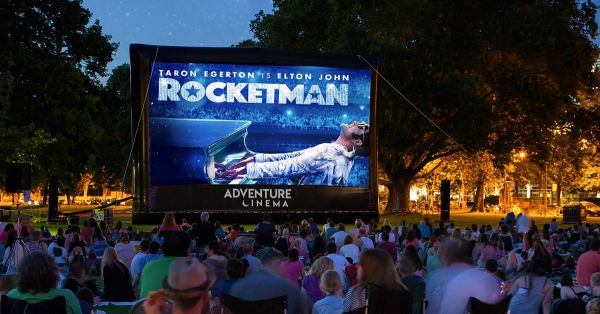 Rocketman Outdoor Cinema at Alnwick Castle