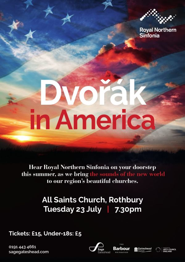 Royal Northern Sinfonia: Dvořák in America