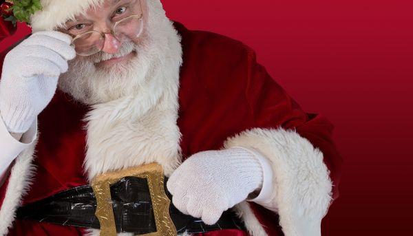 Santa's Arrival at Berwick Garden Centre