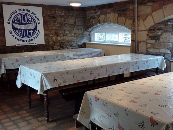 Seahouses Hostel Kitchen