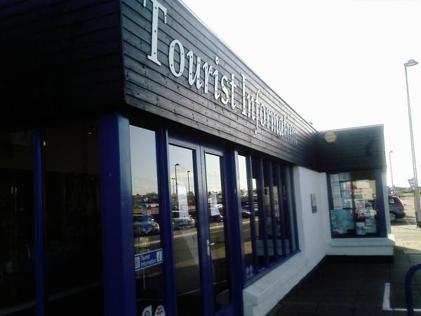 Outside Seahouses Tourist Information Centre