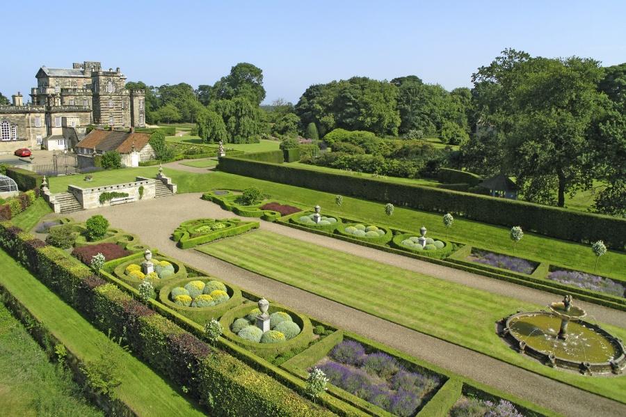Hall and gardens