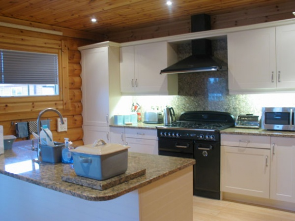 Luxury Lodge Kitchen