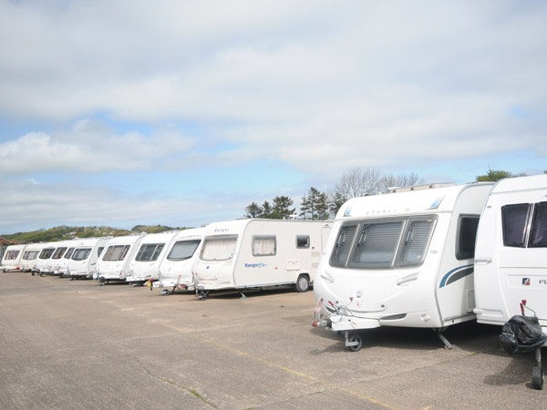 Outdoor Caravan Storage