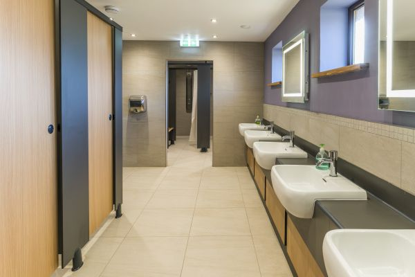 Toilets to Showers