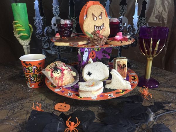 Spooky Afternoon Tea