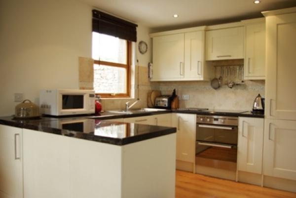Homildon House bright kitchen