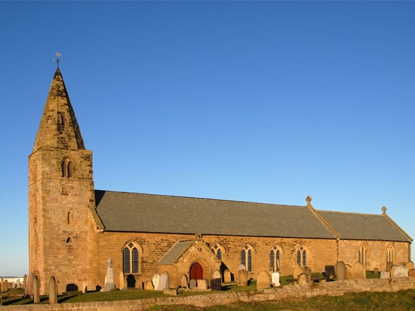 St Bartholomew's Church is near Sandy Bay Holiday Park