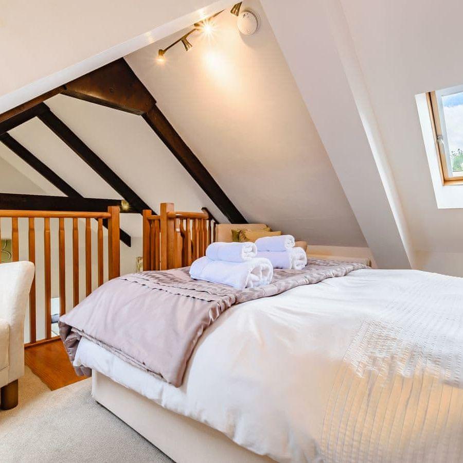 St Bede-Mezzanine bedroom
