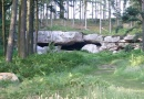 St Cuthberts's Cave is near Bellshill Tower