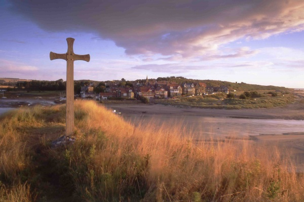 Cuthbert's Cross is near The Bathing House Howick