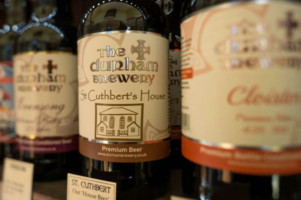 Enjoy a bottle of our very own 'house-beer', brewed for us by the Durham Brewery