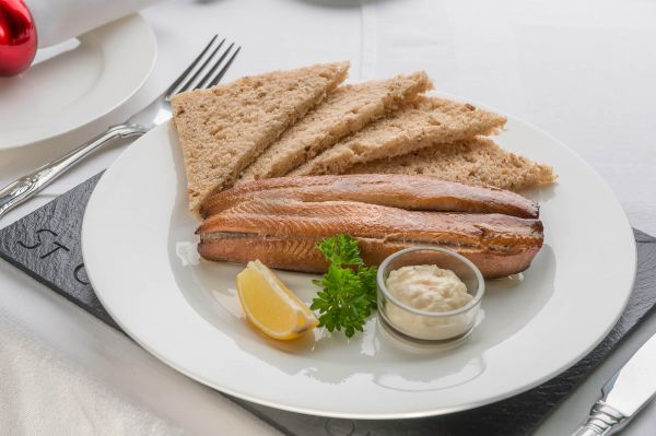 Kippers from the Seahouses smokehouse...