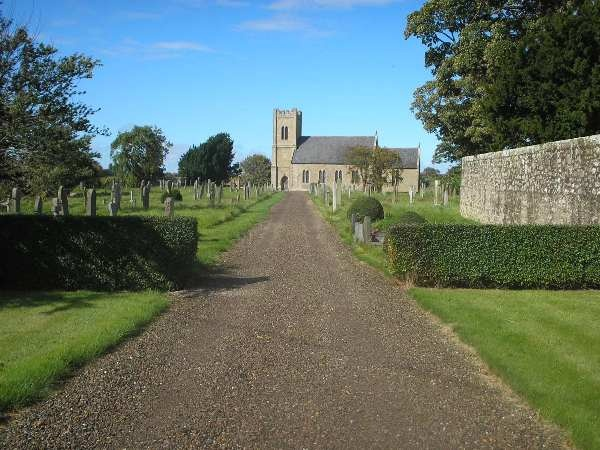 Church Driveway is near Rosybank cottage