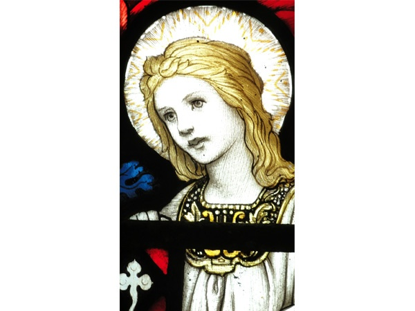 Detail from the 1910 Stained Glass Window