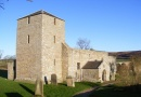 St John the Baptist Church in Edlingham is near Callaly Cottage Retreat