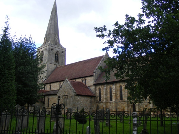 St Mary's at Mitford is near Sanderson Arcade