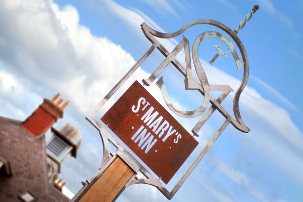 St Mary's sign