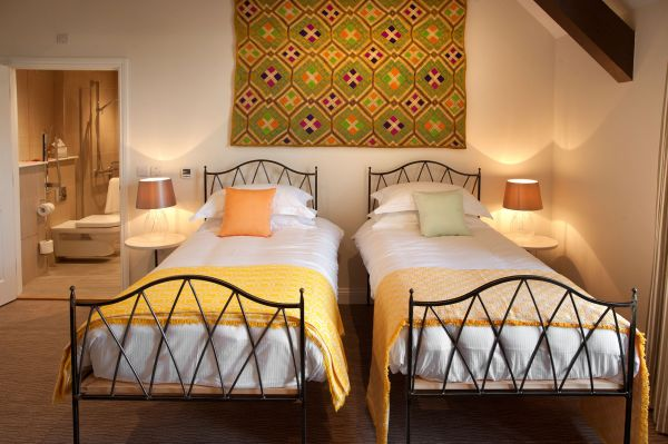 Twin room at St Mary's Inn