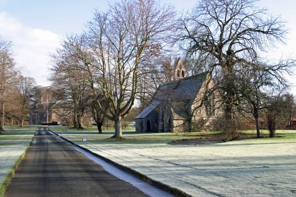 Frosty Day at St Mary's Etal