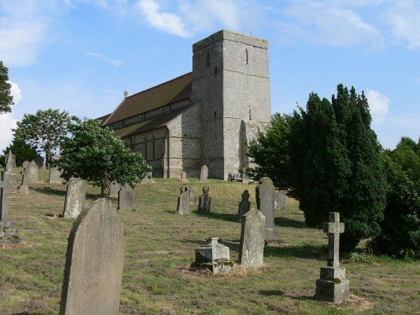 St Mary's at Stamfordham is near Matfen Hall