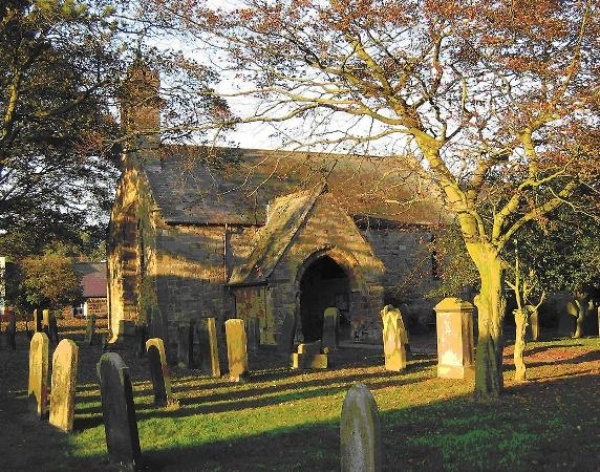 St Mary the Virgin at Longframlington is near Eshott Hall